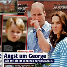 Neue Welt / 14.07.2018 / Prinz William + Kate